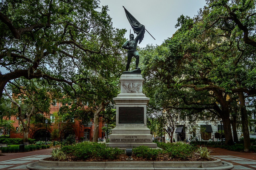 Sgt. William Jasper Monument | Monuments You May Have Missed | Savannah Dream Vacations